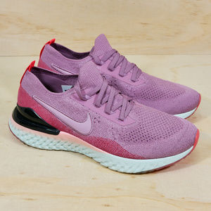Nike Epic React Flyknit 2 Plum Dust Shoes NEW